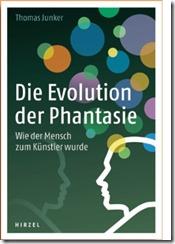 """Buchtitel zu """"Die Evolution der Phantasie"""""""